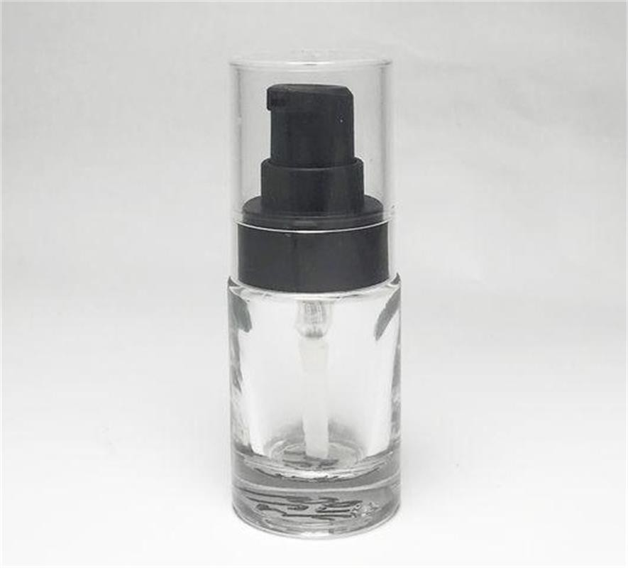 Cosmetic packaging glass bottle