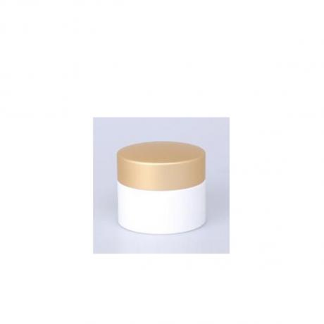 Beauty product packaging matte gold plastic caps for plastic bottles container body and face product